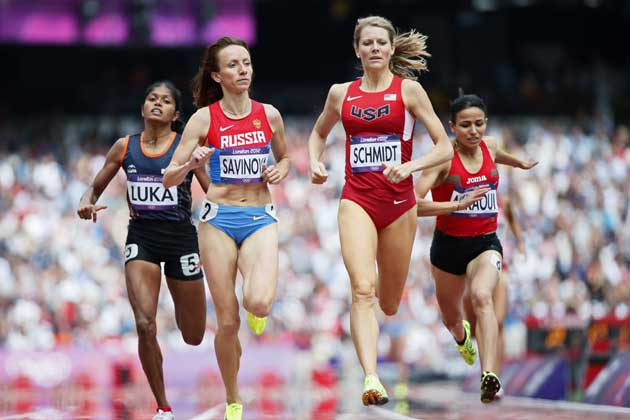Olympic athletics: Tintu Luka qualifies for 800m semis