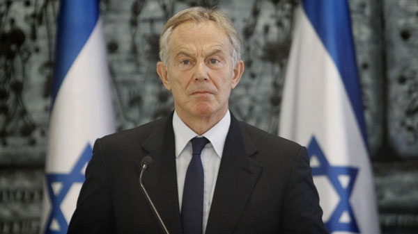 Tony Blair to step down as Middle East peace envoy