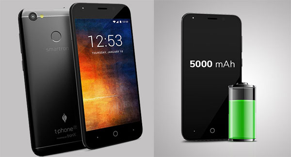 tphone P: Go for impressive battery, basic Android experience