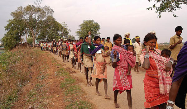 Eviction of tribals holding forest land put on hold