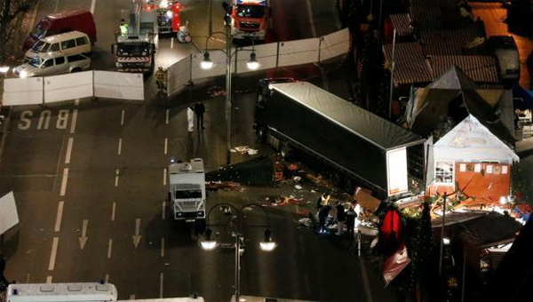 IS claims responsibility for Berlin truck attack