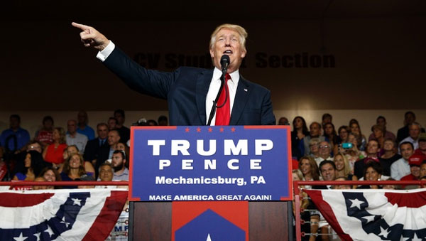 Trump makes direct appeal to African-American voters