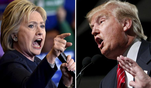 Trump, Clinton share spoils with rivals in primaries