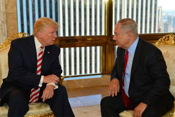 Israel welcomes Trumps move to back away from two-state solution