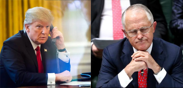 Trump blasts Australian PM, abruptly ends phone call