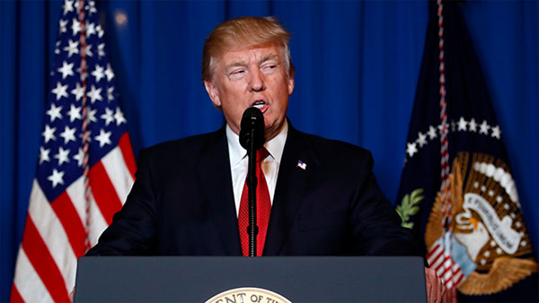 Wont rule out military option in Venezuela: US President Donald Trump