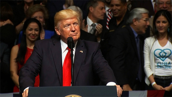 Trump unveils new restrictions on travel, business with Cuba