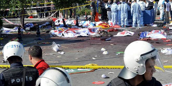 Death toll of Turkeys deadly twin blasts rises to 95