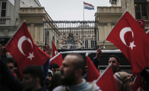 Turkey declares political sanctions against Netherlands