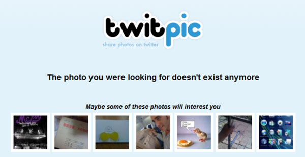 Export your photos as Twitpic to shut shop
