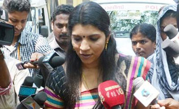 Saritha S Nair disowns letter aired by channels
