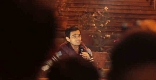 Watch: Speech by Umar Khalid after he returned to JNU