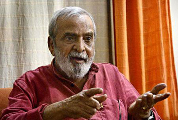 Ananthmurthy, a towering literary figure with strong political views