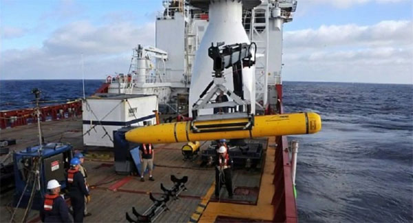 China returns seized underwater drone to US