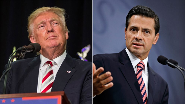 Mexican President calls off US trip after border wall spat with Trump