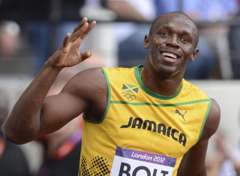 Olympics: Bolt, Blake headlines semi-finalists for 100m