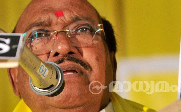 BJP announces tie-up with Vellapally Natesan's BDJS