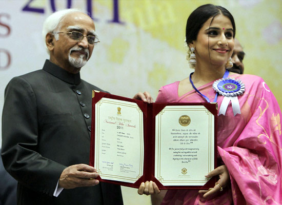 National award winners on high after ceremony
