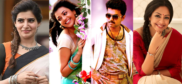 Vijay to romance three heroines in his next film