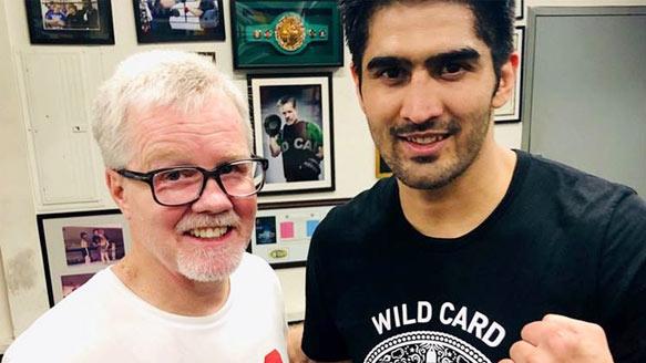 Injured Vijender Singh pulls out of National Games