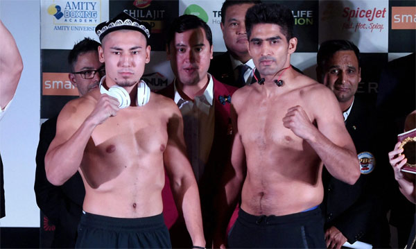 Boxer Vijender looks to scale new heights, beat Zulpilkar