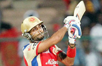 Kohli powers RCB to 183/4