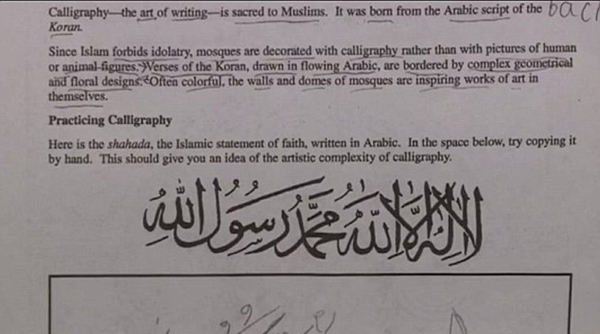 Virginia school forced to close over teacher's controversial Arabic assignment