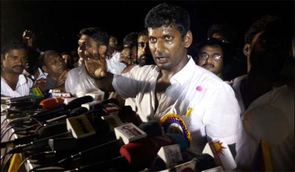 Vishal elected president of TN Film Producers Council, says priority is to curb piracy