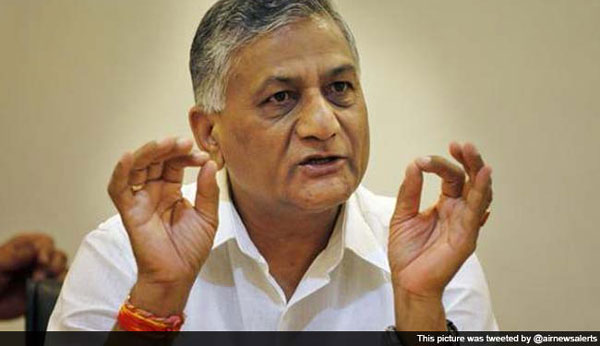 Insidious campaign against me at behest of arms lobby, says VK Singh