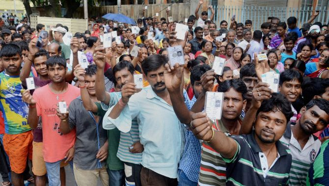 LS polls 1st phase largely peaceful, highest voting in Tripura