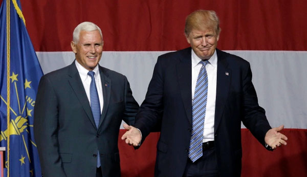 Trump selects Mike Pence for vice presidential slot