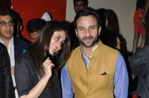 Working together not on our priority list: Kareena on Saif