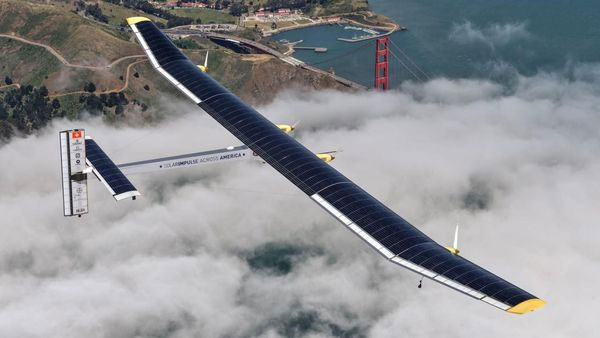 Solar Impulse 2 leaves Egypt for final leg of world tour
