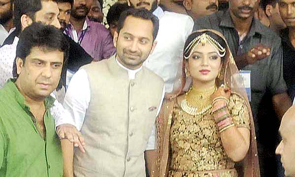Fahadh and Nazriya tie the knot