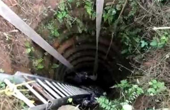 Two students killed after falling into well