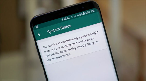 WhatsApp restored after brief global outage