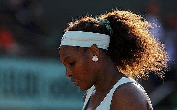 Serena Williams crashes out in French Open epic