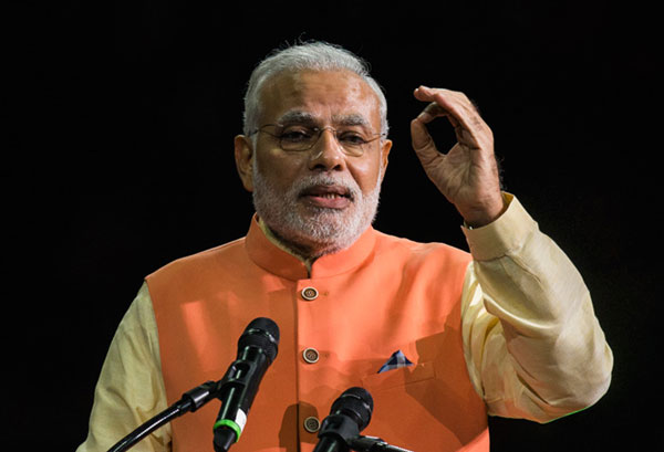 As natural allies, India, US should work together: Modi