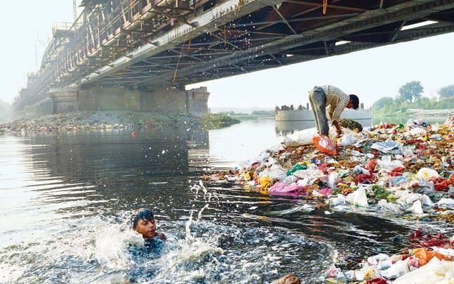 Cycle expedition to focus attention on polluted Yamuna