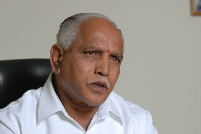 Sabarimala row: Yeddyurappa says BJP not against Supreme Court order