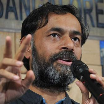 Neither split nor quit AAP: Yogendra Yadav