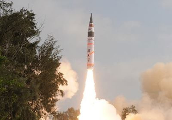 India successfully test fires 3,000 km range n-missile