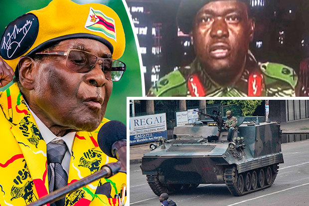 Zimbabwes bloodless coup